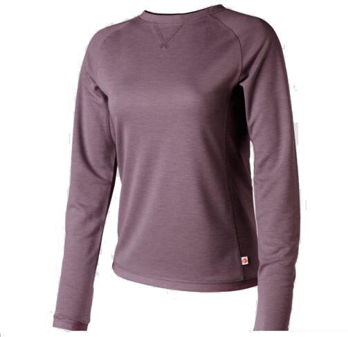 Redington REDIBALANCE Crew Long Sleeve Shirt  Plum NEW  Closeout Small