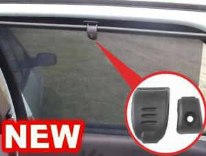 Rear Doors Window Curtain Shade Movable Sunshade Blind Handle for Renault