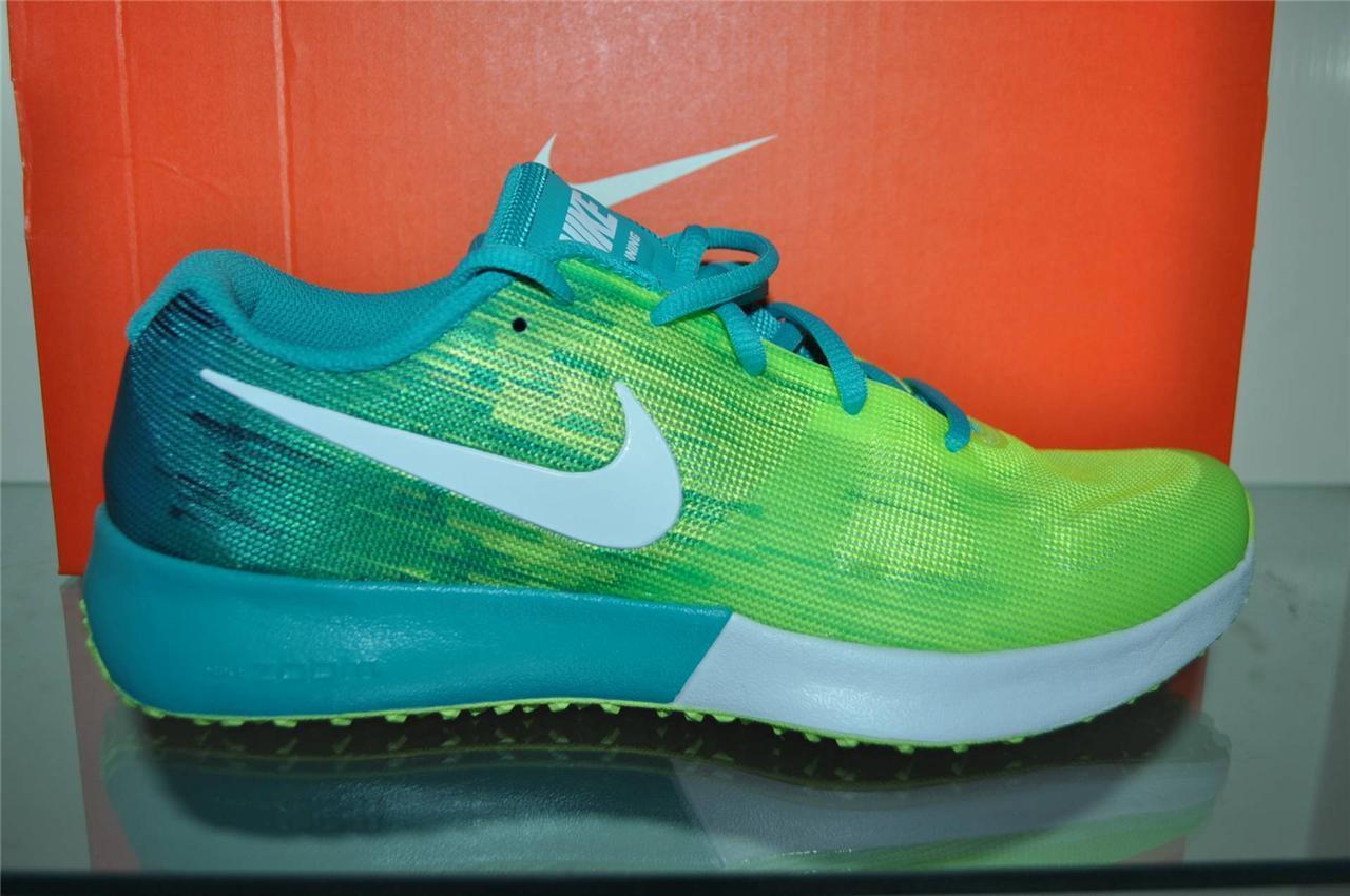 Nike Zoom Speed TR 630855 713 Homme Running Training Chaussures Volt Blanc-Vert Turbo