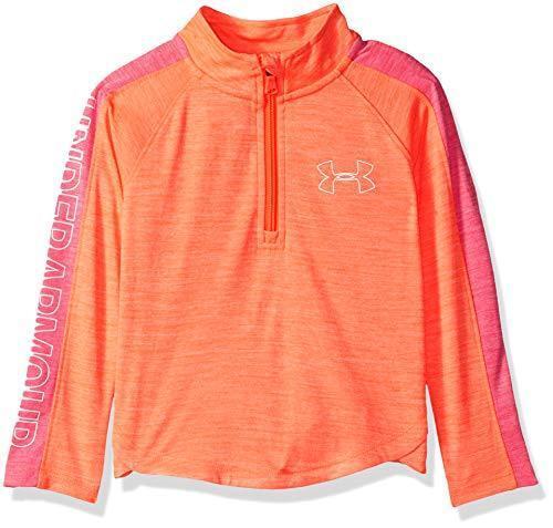 Under Armour Girls Little Training 1//4 Zip Sweater Pick SZ//Color.