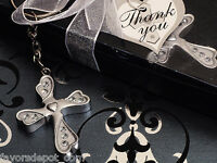 9 Blessed Events Keychain Cross Collection Baptismal Communion Religous Favors