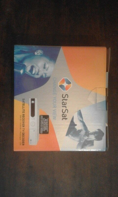 Satelite HD TV Decoder StarSat, New in a box  | Sandton | Gumtree