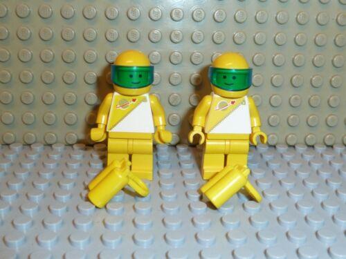 LEGO ® Space Classic 4x Futuron personaggio con airtank GIALLO sp016 6990 6953 6703 f189