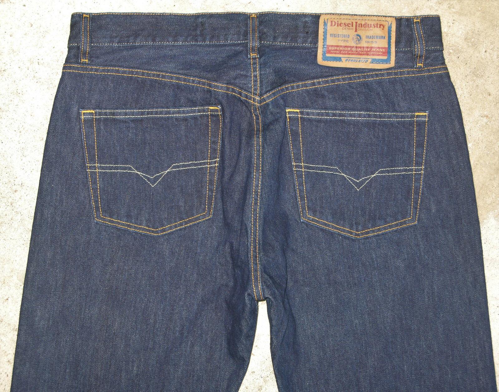 Diesel Keetar Jeans Mens Sz 36 X 33 Tapered Straight Leg 100% Cotton  Made