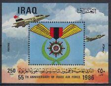 Irak Iraq 1986 ** Bl.47 Kampfflugzeuge Warplanes Himmel Sky Aircraft Military