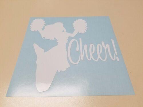 Window Toolbox Stickers #732 Cheerleader Sticker