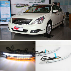 LED Daytime Running Lights with Turn Signal For 2008-2010 ...