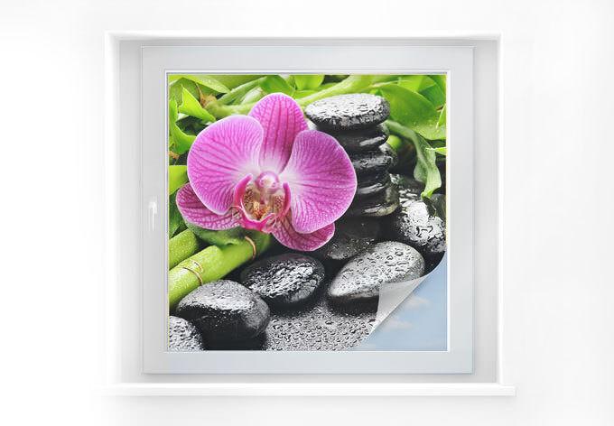 Projoección visual lámina spa concept-cuadrado fensterdeko autoadhesivas decorativas