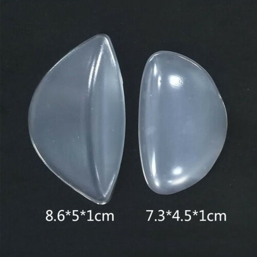 Clear Silicone Gel Adhesive Arch Support Insole Pad Shoes Cushion for Flat Feet