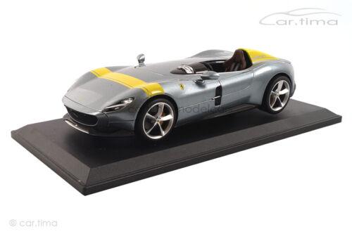 Ferrari Monza SP1 grau//gelb Bburago 1:18 18-16013GY