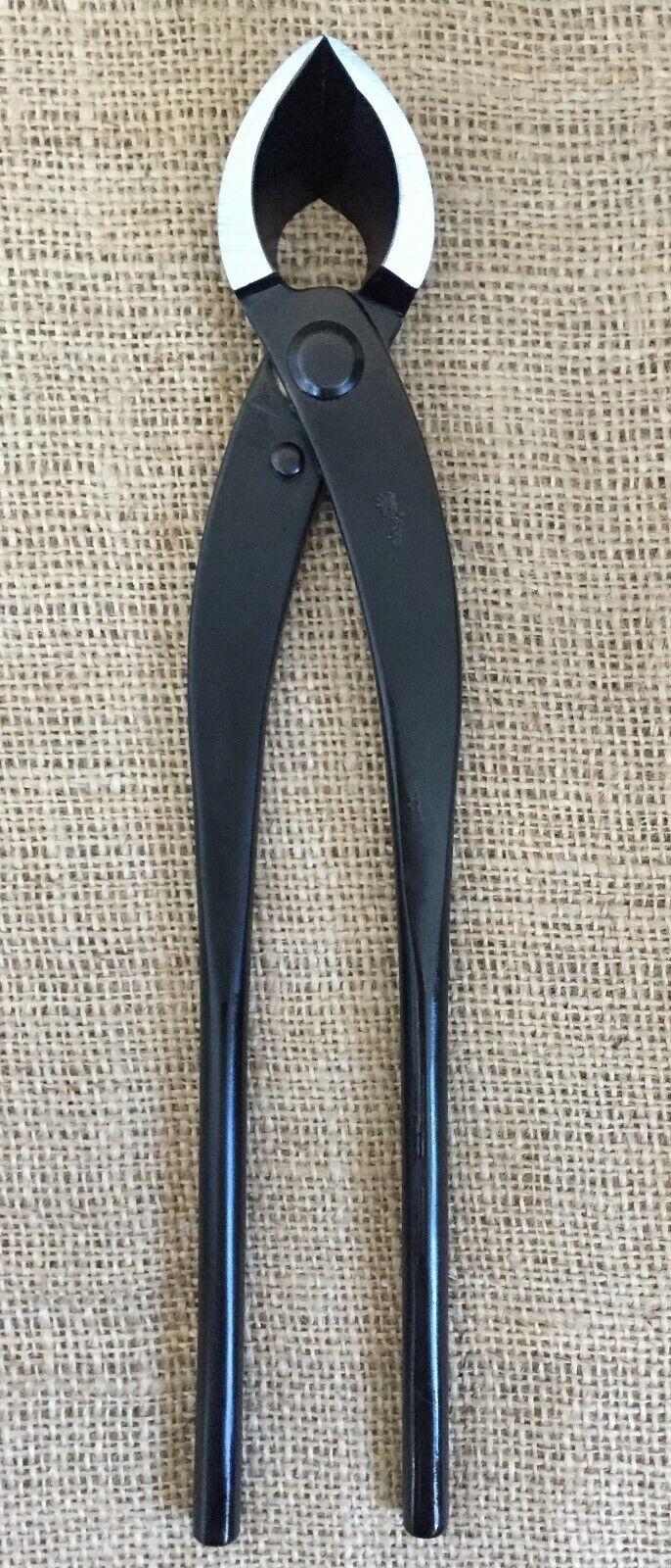 Ryuga Bonsai herramientas grande negro de acero al Cochebono 280mm Cortador de sucursal