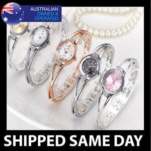 JW-WOMENS-FASHION-DRESS-WATCH-LAB-DIAMOND-CRYSTALS-Gold-Silver-Rose-Bracelet-94