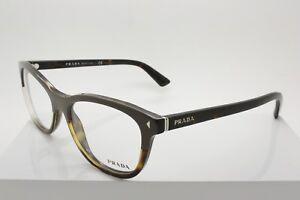 74b46342b6f2 Prada VPR 05R TFL-1O1 Grey   Tortoise Plastic Eyeglasses Size 53 ...