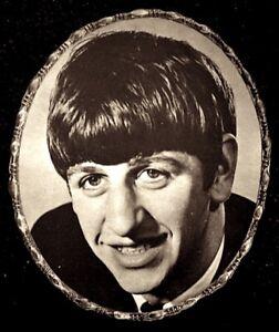 Beatles-1964-Vintage-Pinup-Portrait-Ringo-Starr-7x9-034-Original-NM-COA