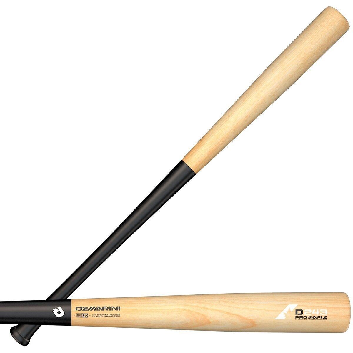 NEW 2019 DeMarini D243 Pro Pro D243 Maple Wood Composite Baseball Bat 31
