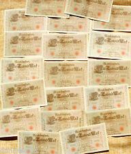 Marco alemán de 1910 1000 Reichsbanknote