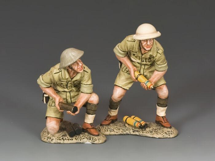 KING AND COUNTRY British 25 PDR. Field Gun Crew Crew (Austr)  EA091(Aus) EA91(Aus)