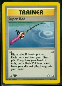 Pokemon Neo Genesis Common Card #103//111 Super Rod