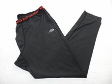 MENS black athletic fitted track PANTS = THE NORTH FACE = xlarge XL = km31