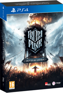 Frostpunk Console Signature Edition PS4 neuf sous blister