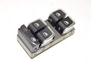 Audi-A5-8T-12-Interruttore-alzacristallo-VL-anteriore-sinistro-cromato-nero-4-v