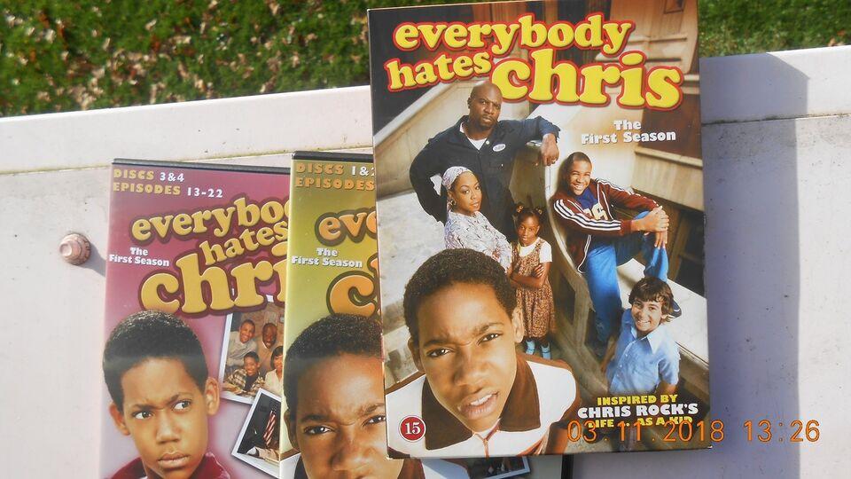 Everybody hates Chris, instruktør 1 sæson, DVD