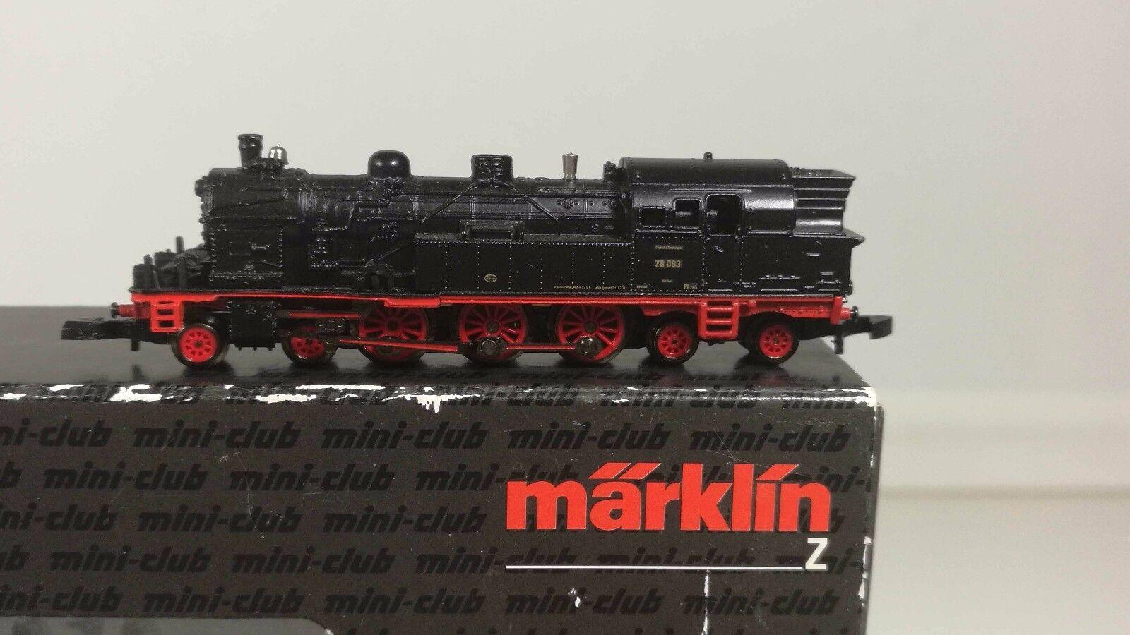 88062 locomotiva BR 78 093 della DRG-TOP-SCATOLA ORIGINALE
