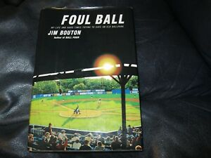 Foul-Ball-Book-Autographed-by-Jim-Bouton-JSA-Auction-Certified