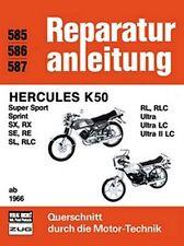 WERKSTATTHANDBUCH REPARATURANLEITUNG WARTUNG 585 HERCULES K50 ab 1966