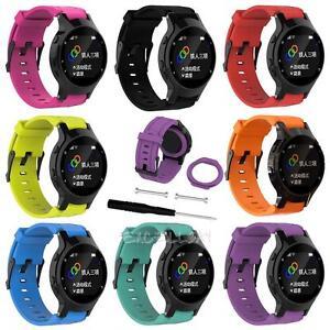 Sports-Silicone-Watch-Band-Wrist-Strap-For-Garmin-Forerunner-225-Running-Watch