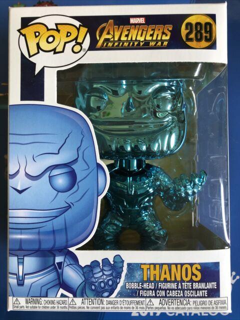 Thanos Blue Chrome The Avengers Infinity War Funko Pop Vinyl