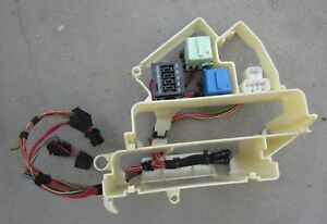 details about 2000 bmw 323ci e46 m52 interior fuse box dme relay panel \u0026 wiring used 2000 BMW 3 Series 323Ci