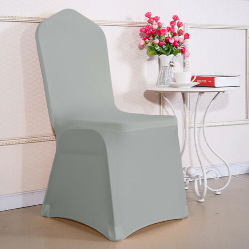 1//4//6//10 Spandex Stretch Dining Chair Covers Seat Cover Wedding Party Home Decor