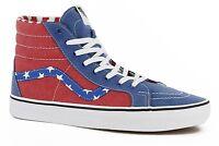 Vans Sk8-hi Reissue Mens Shoes (new) Sizes 7-13 : America Usa Flag Stars Stripes