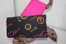 Stoffpakete 2 x 50x150 = 1,50 Baumwolljersey Love, smile + uni pink