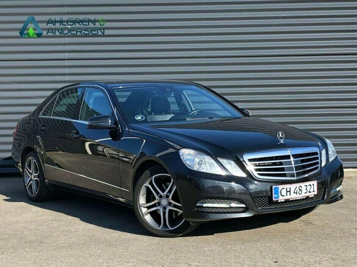 Mercedes E350 3,0 CDi Elegance aut. BE 4d