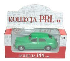 1/43 Rare Poland Kolekcja Prl-u Warszawa M20 Milicja 1:43 Diecast Model Green