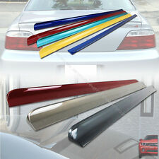 PAINTED ACURA TL III Sedan REAR ROOF SPOILER & TRUNK LIP SPOILER 04~08  §