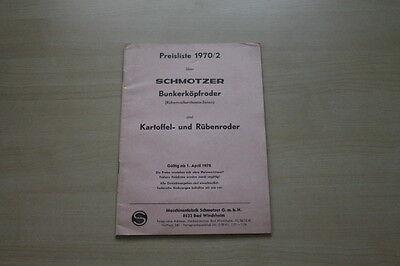 GüNstiger Verkauf 163695 Prospekt 04/1970 Diversifiziert In Der Verpackung Schmotzer Preise & Extras