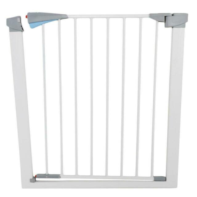 NEW Evenflo Easy Walk-Thru Safety Metal Gate for Baby Toddler Pet Child Doorway
