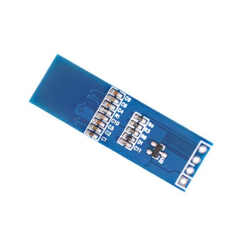 """iic i2c 0.91/"""" 128x32 blue oled lcd display module 3.3v 5v BB"""