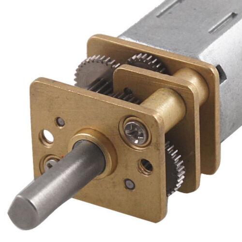 DC 3 V 0.3 A 15 tr//min électrique Geared Box moteur pour robot TS
