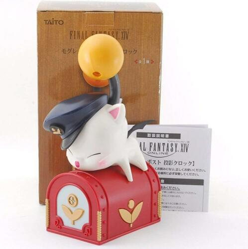 Final Fantasy XIV Moogle Letter Post Projection Clock NEW Collectibles game FF