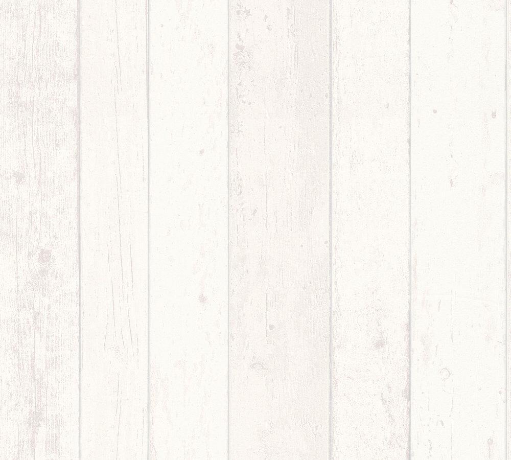 A.S.Crèation  Vlies Tapete 8550-46 855046 Best of Wood/&Stone Holzoptik Weiß