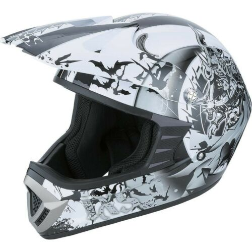 Reduziert IXS HX 276 Sword sw grau weiss Enduro Helm Cross Offroad eUVP 99,90