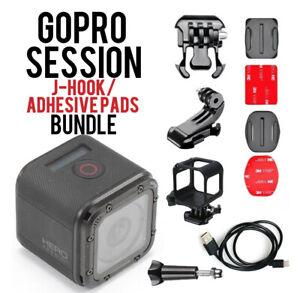 Refurbished-GoPro-Hero-Session-4-wasserdichte-HD-Action-Kamera-mit-Bundle