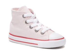 e3659487e444 Baby Toddler Girls Converse Chuck Taylor All Star High Top Sneakers ...