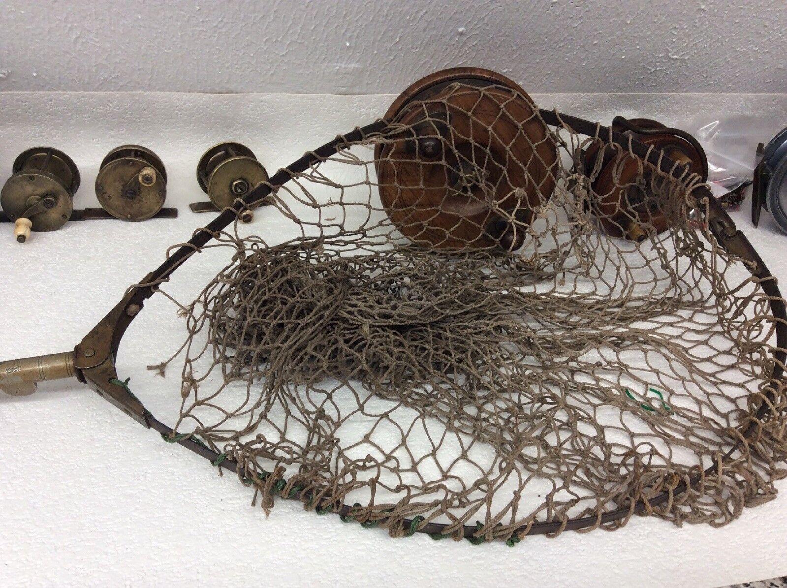 Hardy Bredhers Landing Net Folding Head Vintage Fishing