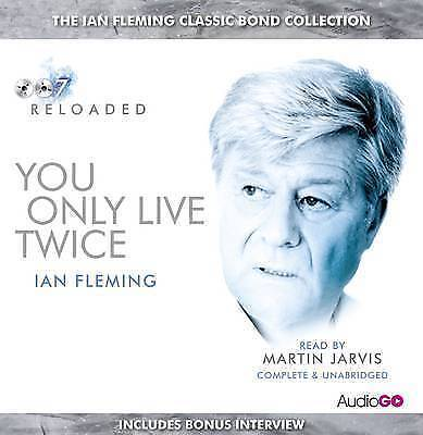 YOU ONLY LIVE TWICE - IAN FLEMING - 6 CD AUDIO BOOK - NEW/SEALED - JAMES BOND