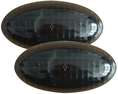 PEUGEOT 206 98-02 CRYSTAL BLACK SIDE LIGHT REPEATER INDICATORS